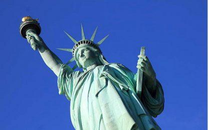 Que représente la statue de la liberté ?