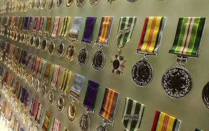 Les différentes décorations militaires