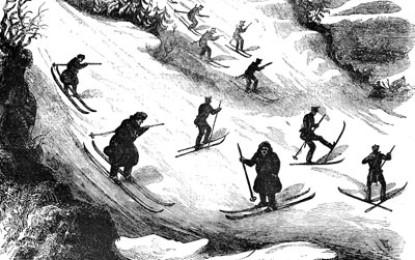 L'histoire du mot ski